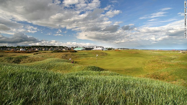 Carnoustie is where Ben Hogan won the only Open Championship he ever played in. The par-five sixth hole Hogan's Alley was named after him because of the tight driving line he took in all four rounds on it.