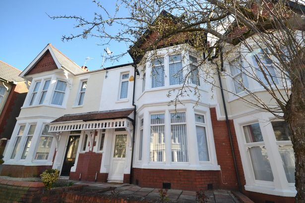 Penylan Terrace, Cardiff property is being sold for £350k
