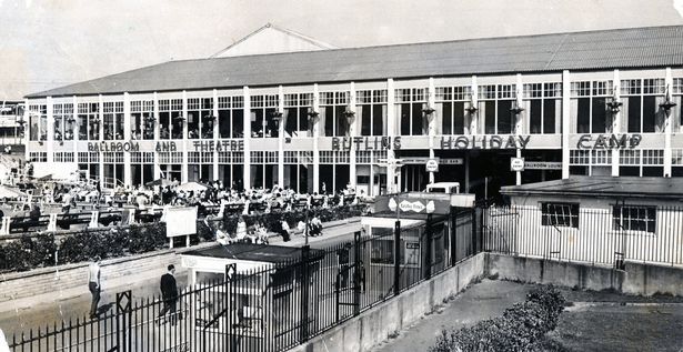 The Main Entertainment Centre at the Holiday Camp in Barry, 15th August 1973