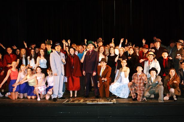 Porthcawl Comprehensive School's production of 'Guys and Dolls'