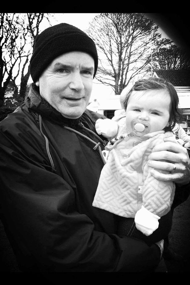 Paul Jones and his granddaughter Sophia