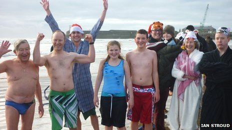 Porthcawl swimmers 2012