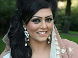 Samia Shahid (pictured), 28,was raped and strangled in an alleged honour killing