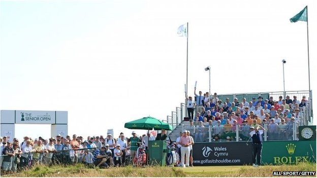 Senior Open at Royal Porthcawl