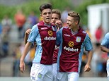 Youth: Villa's youth side were leading in the second half, but ended up losing 5-2 to the Welsh side