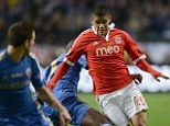 Wanted: Liverpool are keen to sign Lorenzo Melgarejo (right) from Benfica this summer