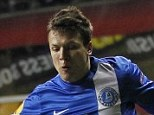 On the move: Ukrainian midfielder Yevhen Konoplyanka (right) could be moving to White Hart Lane