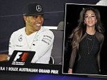 Hamilton takes to Twitter to deny engagement to girlfriend Scherzinger