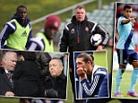 Sam Allardyce faces West Ham axe BEFORE start of the Premier League season after coming to blows with Hammers owners over Ravel Morrison and Andy Carroll