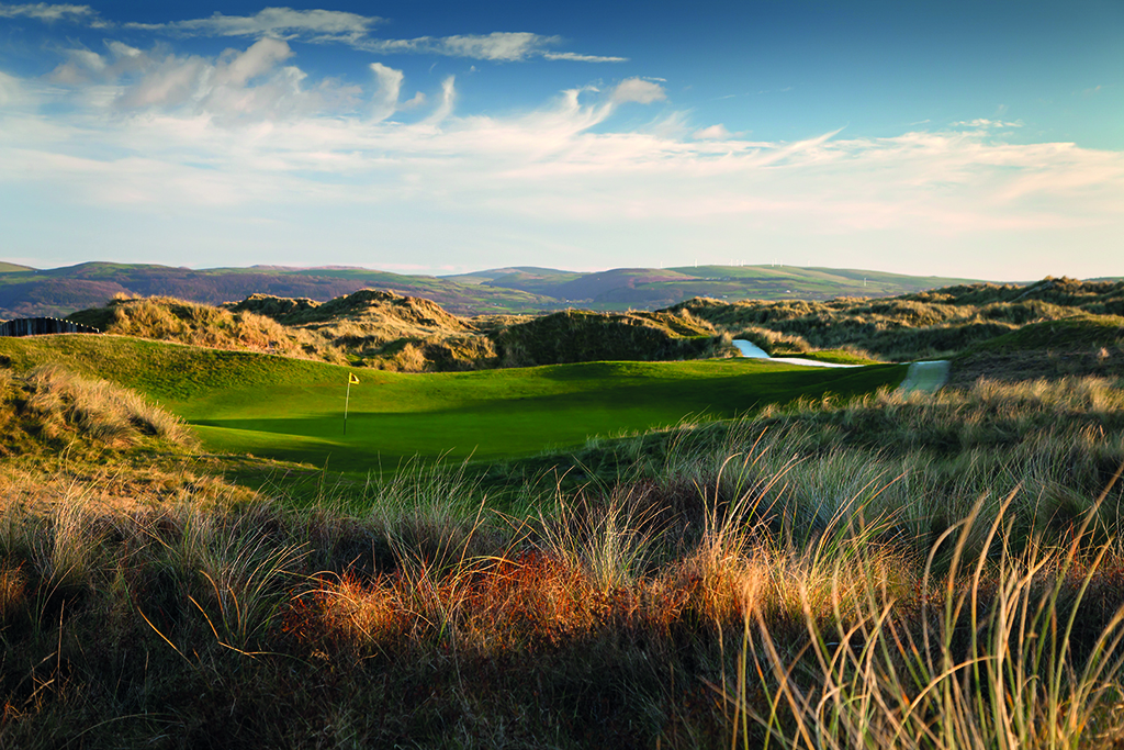golf courses in wales