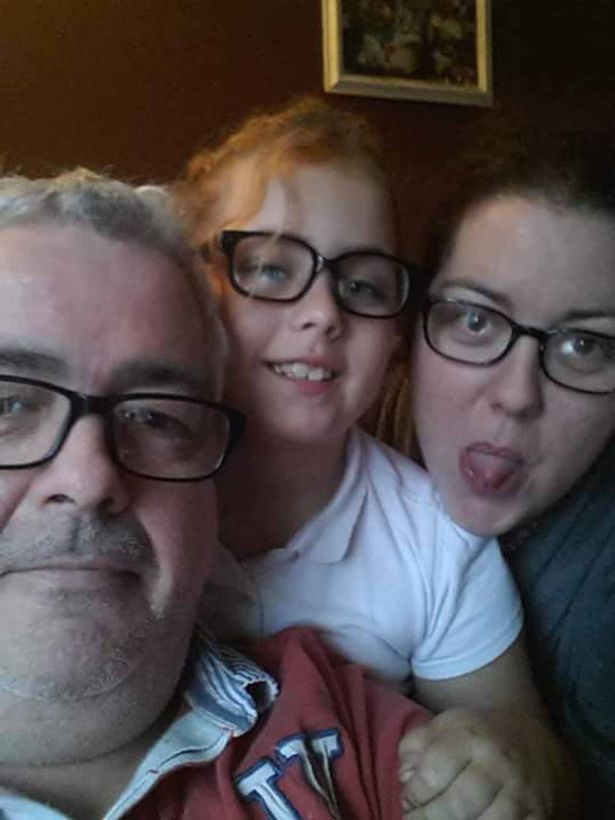 Glyn Stone with daughter Lauren and his granddaughter