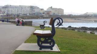Porthcawl benches