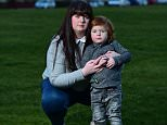 Sarra Reid was horrified to realise her three-year-old son Liam Radcliffe had walked home alone after escaping from his nursery in Ayrshire, Scotland