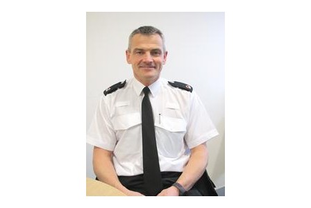 New British Transport Police superintendent Andy Morgan from Porthcawl