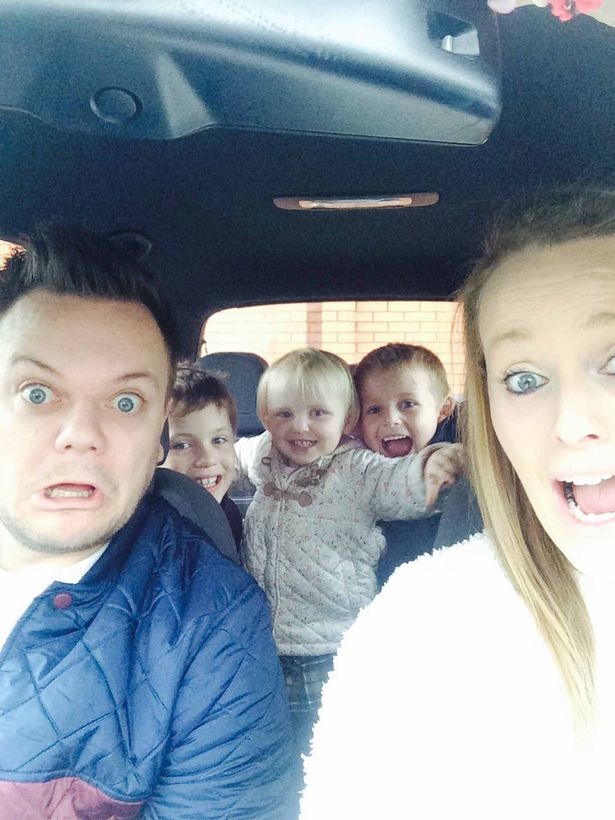 Adam Gibson and family