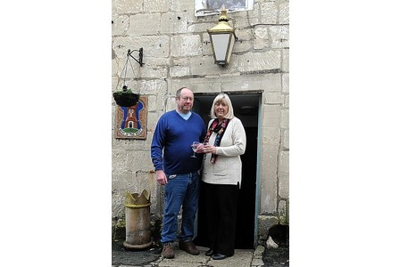 Mike and Gill Brickell  are the new landlord and landlady at the Royal Oak in Painswick.