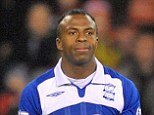 Tragic: Christian Benitez, in action for Birmingham has died aged 27 according to reports from Qatar
