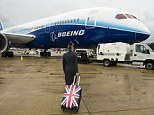 First visit to Britain: The Boeing 787 Dreamliner