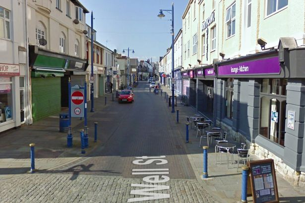 John-Street-in-Porthcawl-where-a-car-smashed-into-a-smoking-shelter.jpg